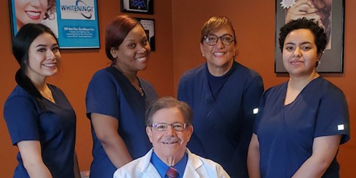 Doctor Dine's dental team
